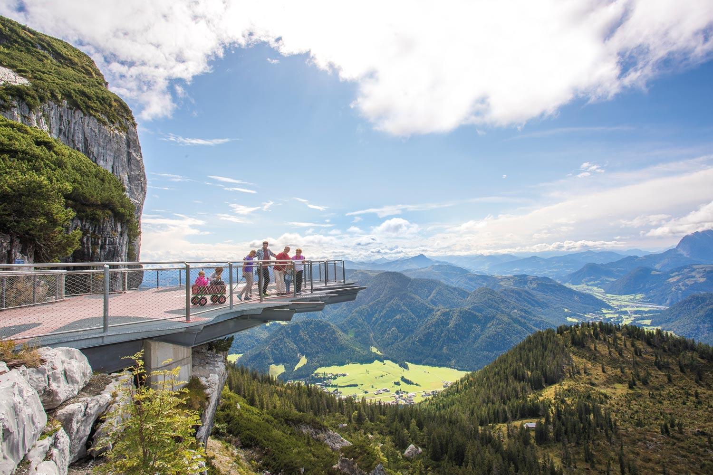 Zomervakantie Kitzbüheler Alpen bezoek aan Triassic Park – Steinplatte