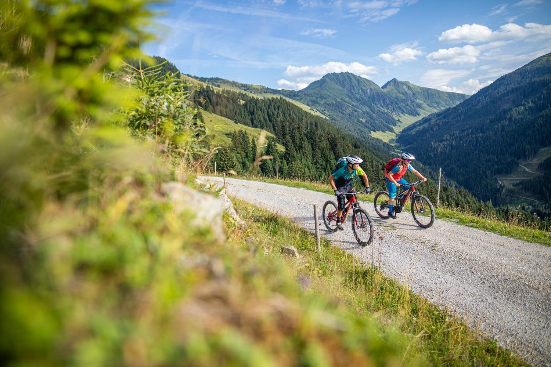 Fietsen in de Kitzbüheler Alpen