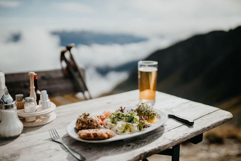 Regionale gerechten van Tirol