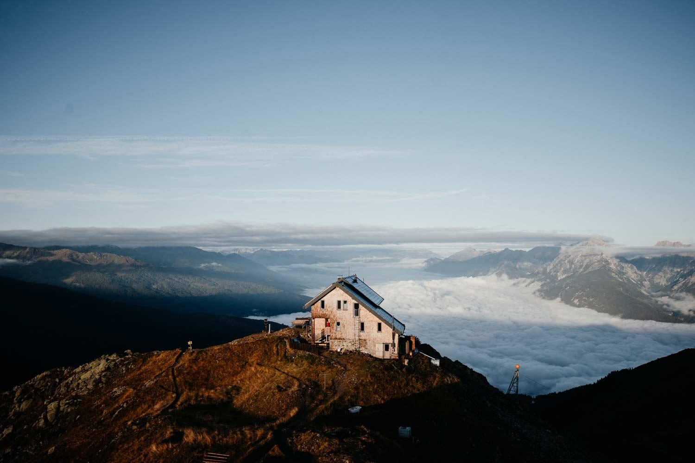Geöffnete Alpenvereinshütten