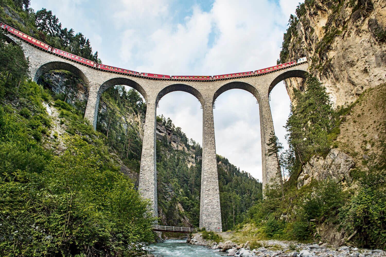 Bernina Express Zwitserland