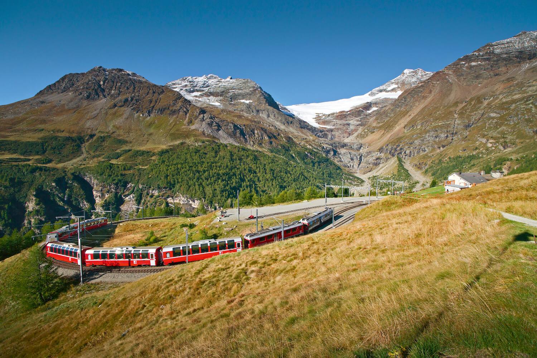 Glacier Express in Zwitserland