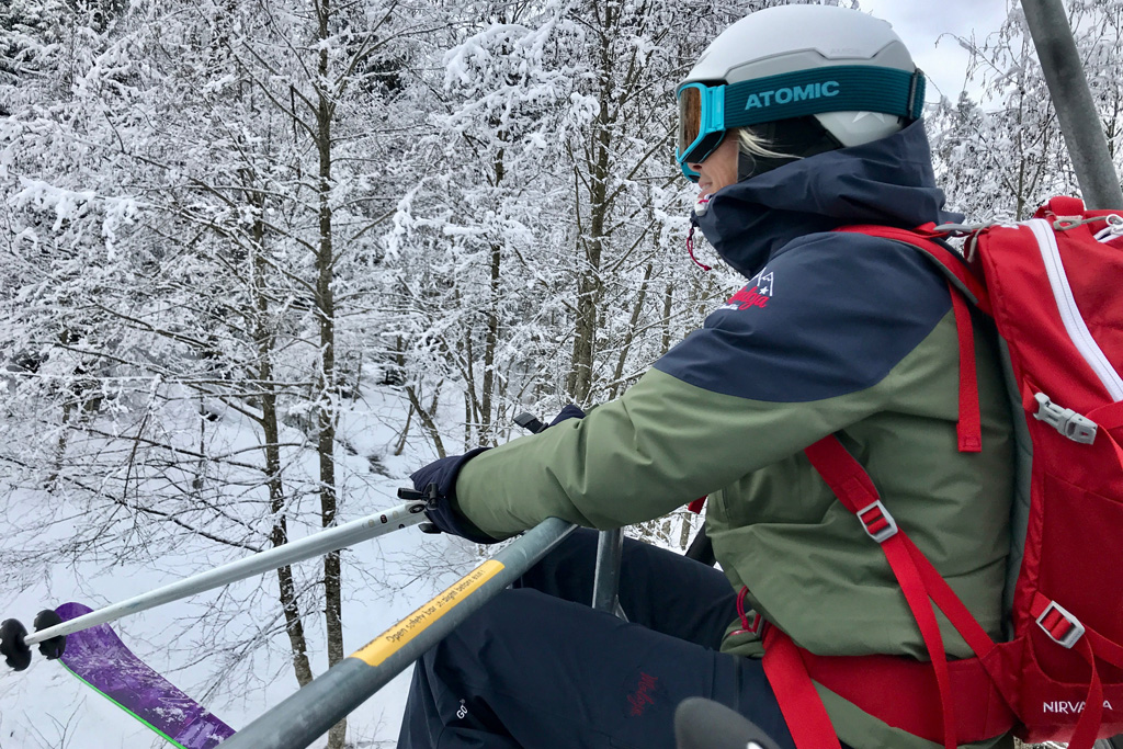 Houd je skibril het liefst op in de skilift