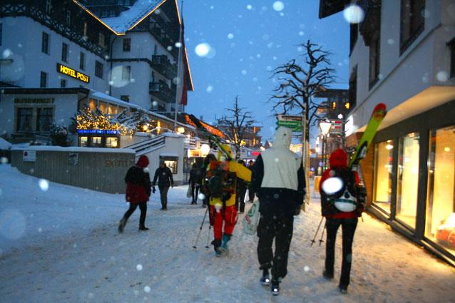 Hoofdstraat St. Anton am Arlberg