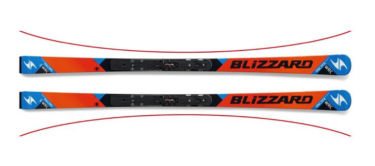 Taillering ski