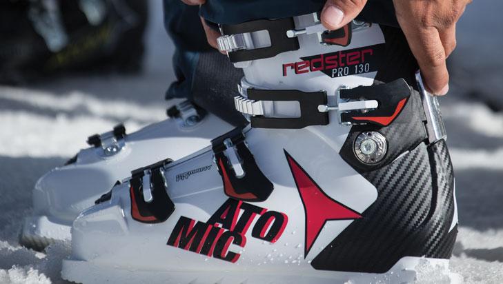 Skischoenen bijstellen
