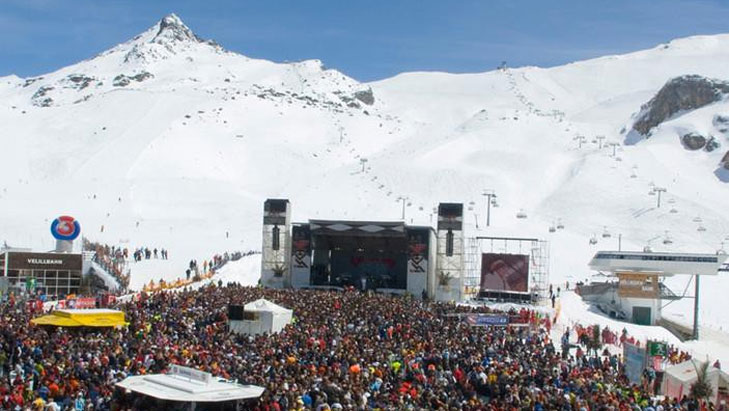 Top of the Mountain Konzert in Ischgl