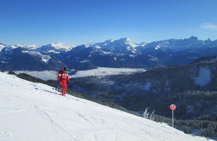 Off-piste skiën rond Châtel