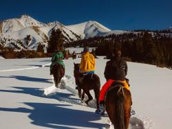 Op wintersport in... Kirgizië