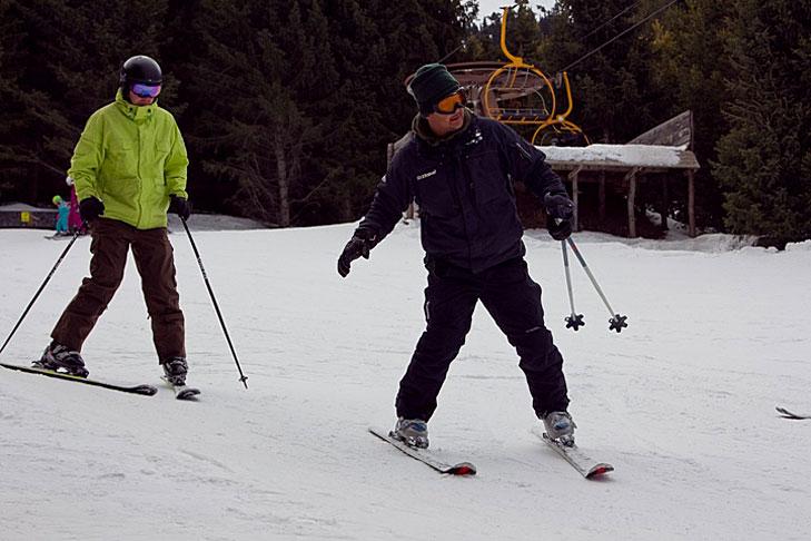 Verbeteren van de wintersportfaciliteiten