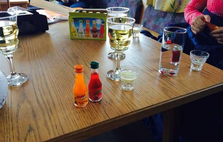 drankjes appartement