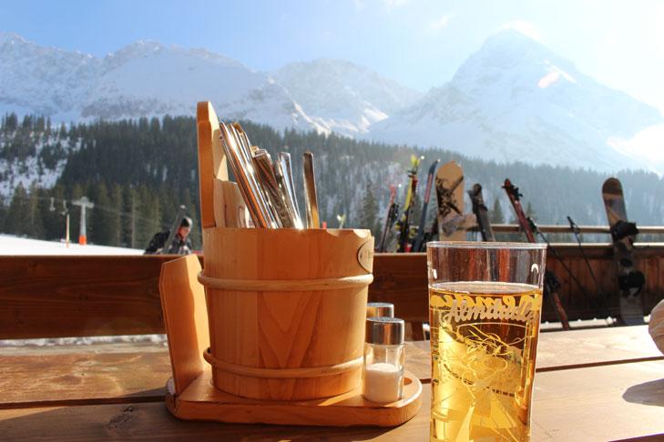 Pisterestaurant: Ehrwalder Alm