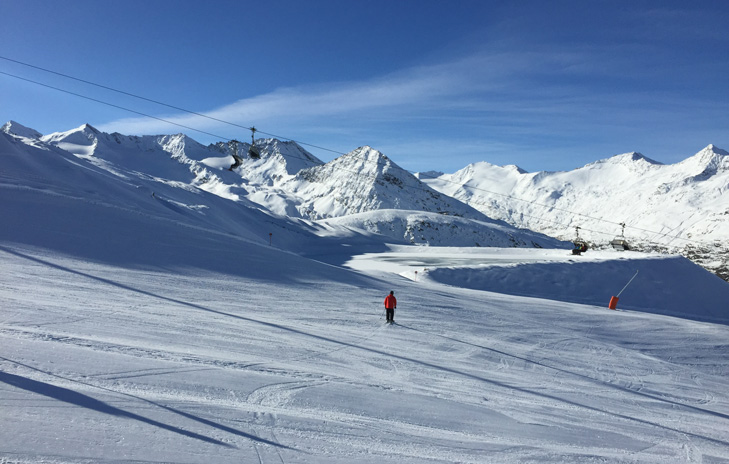 Wintersport in Obergurgl - Hochgurgl - Oostenrijk