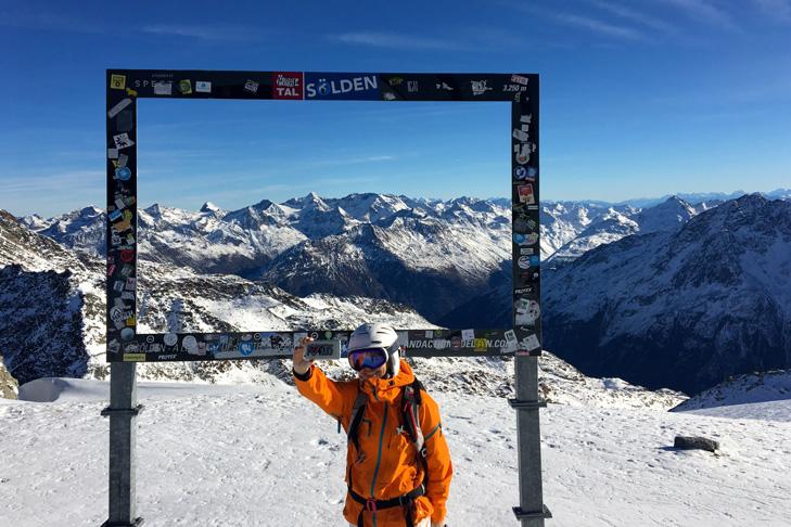Selfies op de Schwarze Schneide