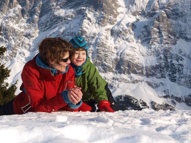 genieten in de bergen