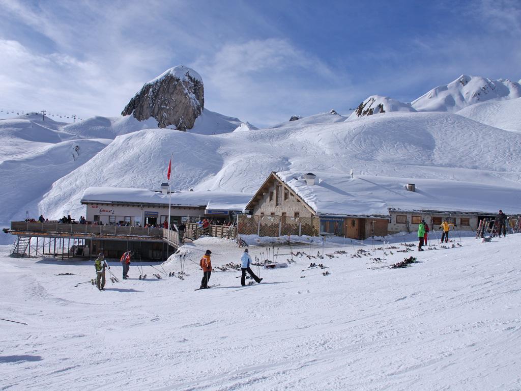 Ligging van restaurant Alp Bella