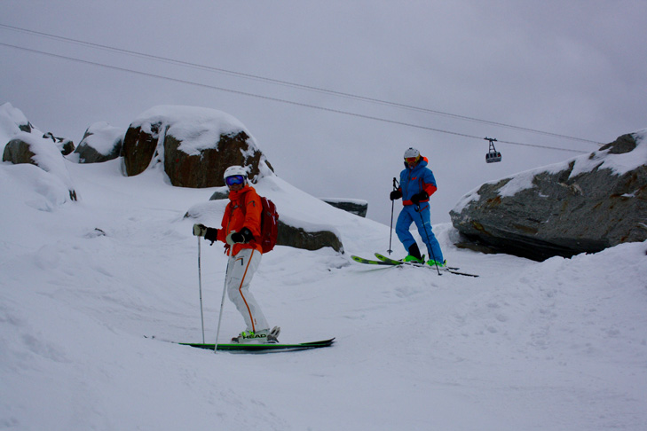 Freeride in Chamonix