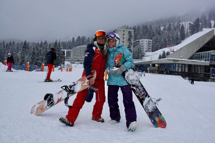 Snowboarden Flaine