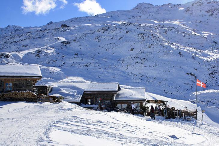 Berghutten in Les Trois Vallées