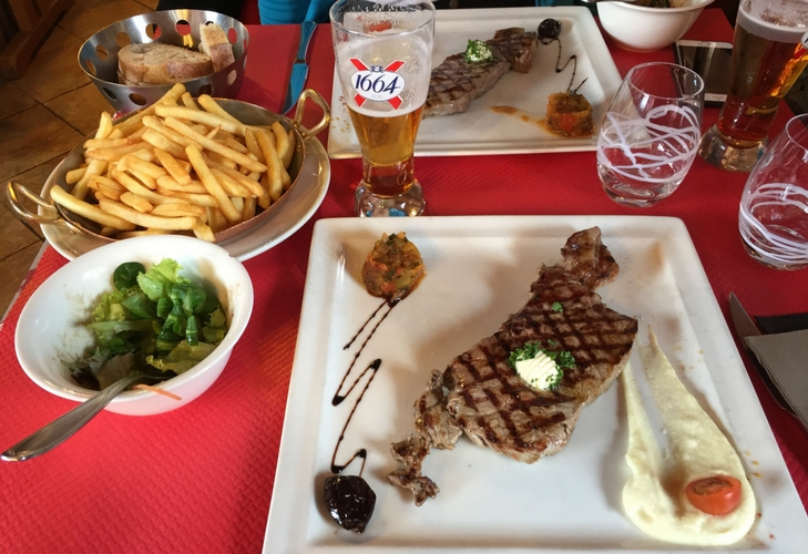 Steak in La Cremaillere – Montriond / Les Lindarets