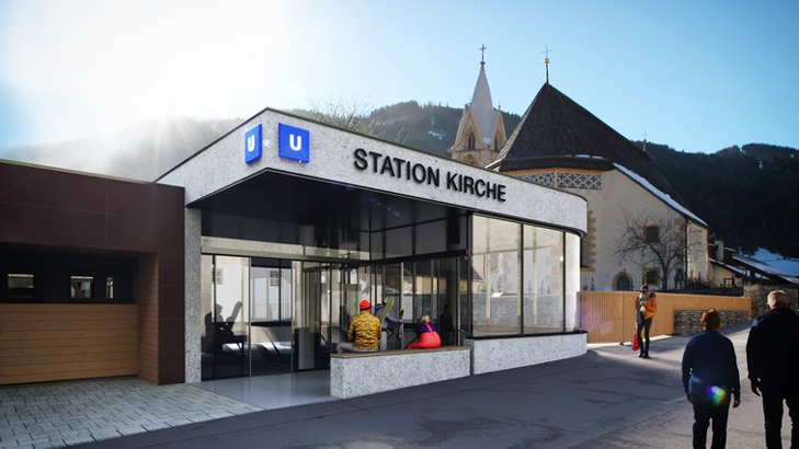 Animatie Station Kirche