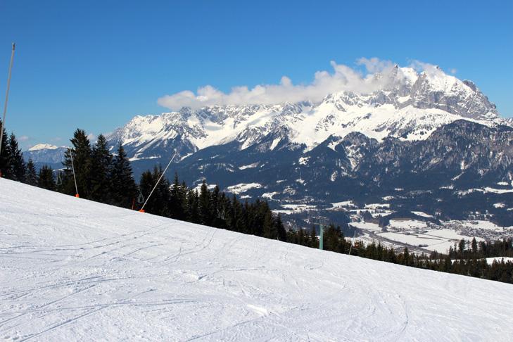 Rustige pistes in het skigebied van St. Johann