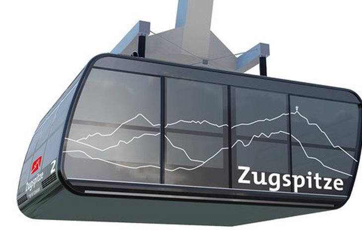 Gondel nieuwe Zugspitzbahn