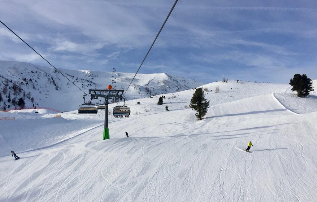 Rustige piste in skigebied Turracher Höhe