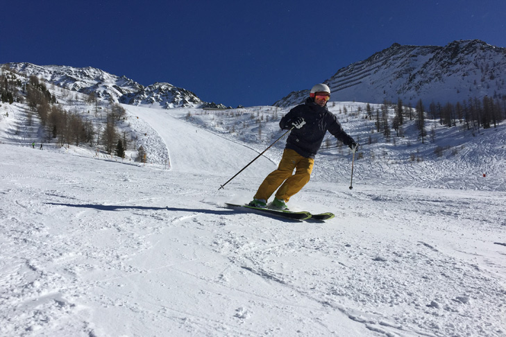 Rustig skigebied