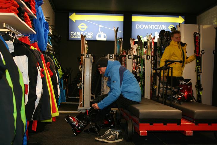 Neem ruim de tijd als je skischoenen gaat kopen