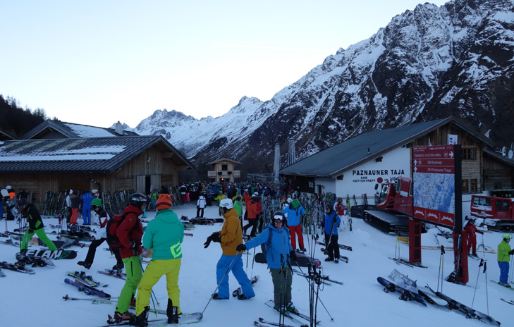 Skiën na après-ski