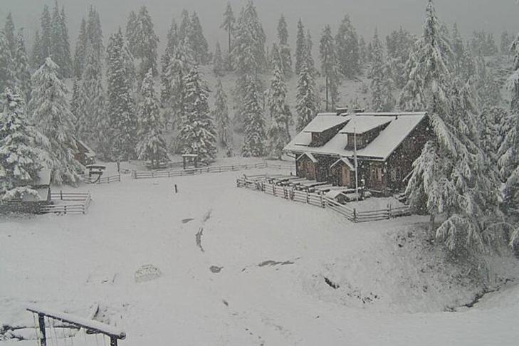 Vroege sneeuwval