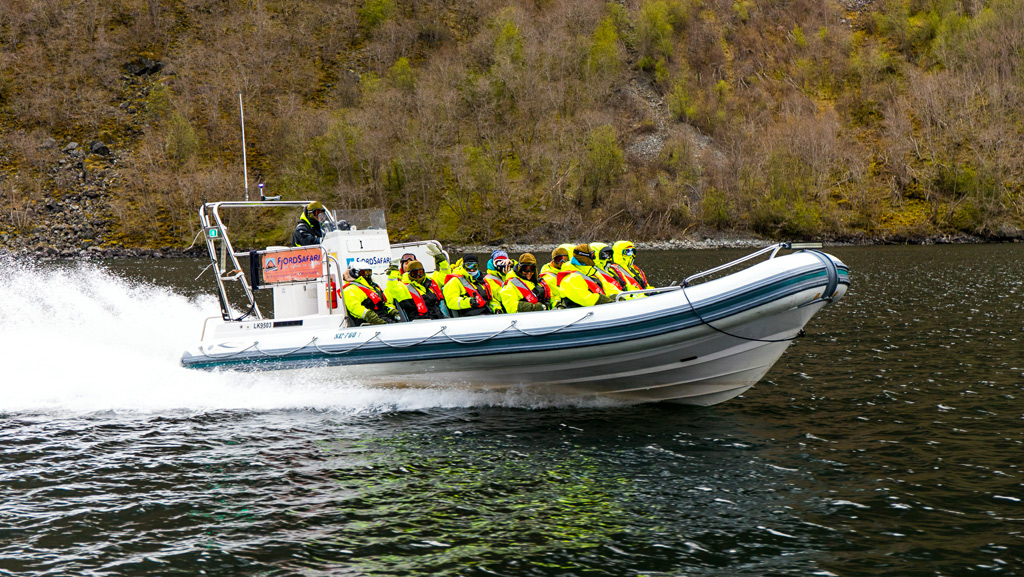 Rib boat Fjord Safari Flåm