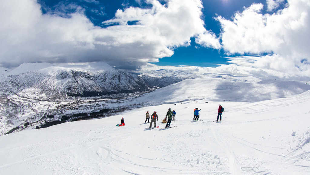 off-piste tour Dutchweek Norway