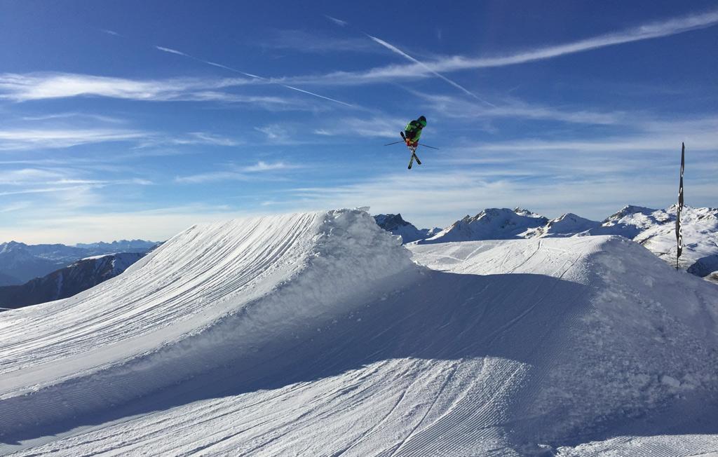 Beste gevorderden skigebied