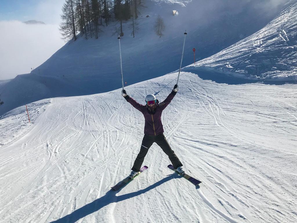 Wintersport in Fieberbrunn in het Pillerseetal