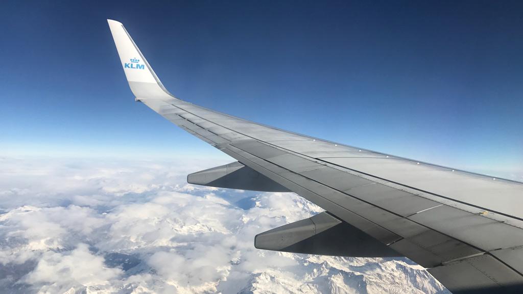 Vliegen Alpen
