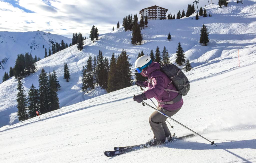 Skiën Kirchberg