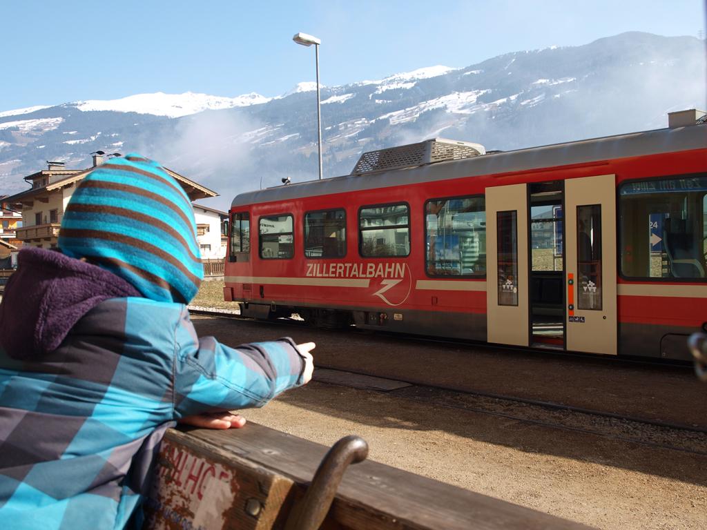 Stoomtrein Zillertal