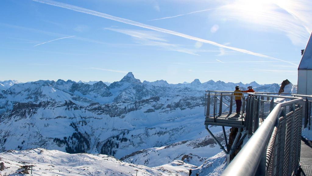 Uitzichtpunt op de Walmendingerhorn Oberstdorf Kleinwalsertal