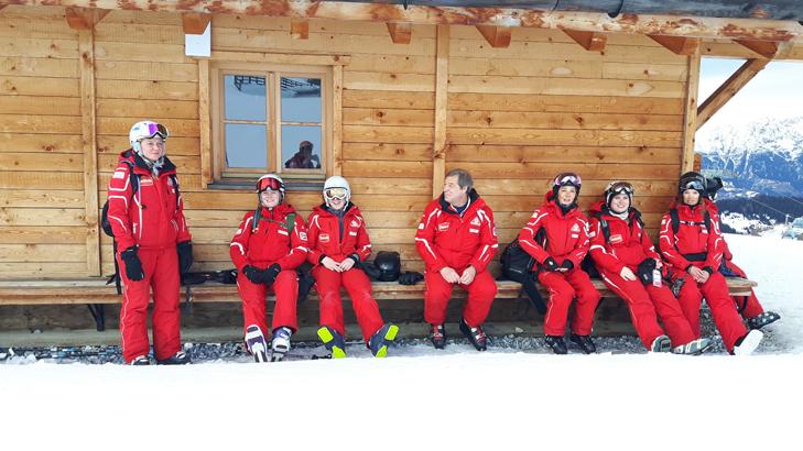 Groep skileraren