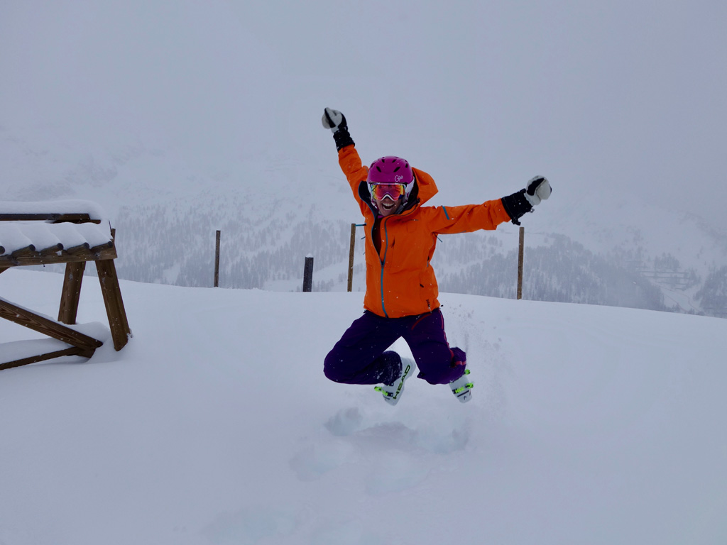 Met de juiste skibril de sneeuw in