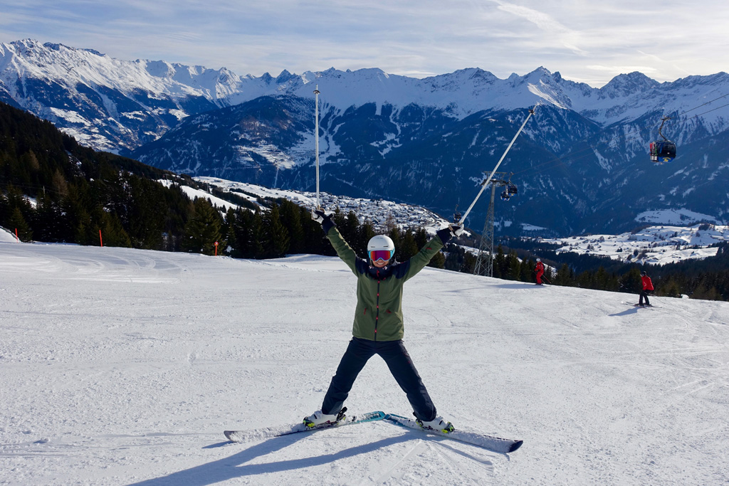 Blij in het skigebied van Serfaus-Fiss-Ladis