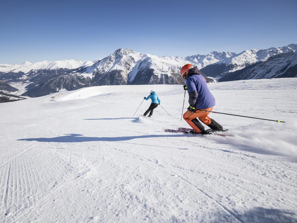 Wintersport in Zuid-Tirol: Val Venosta / Vinschgau