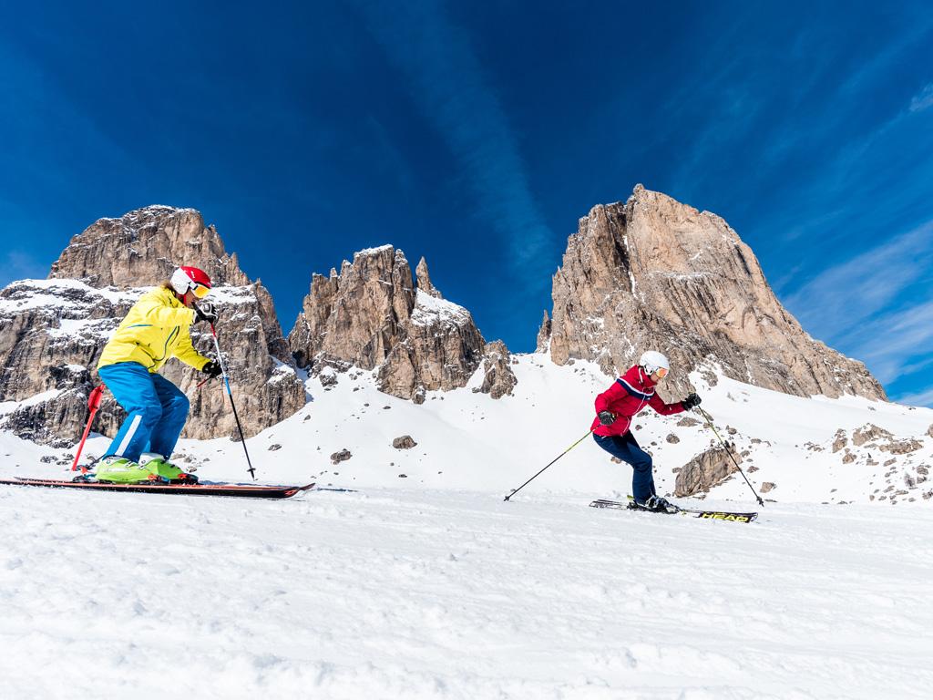 Wintersport in Zuid-Tirol: Val Gardena en het Eggental