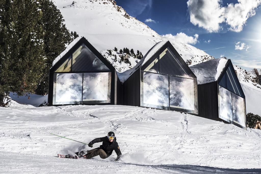 Skiën in Obereggen voor de Oberholz Hut