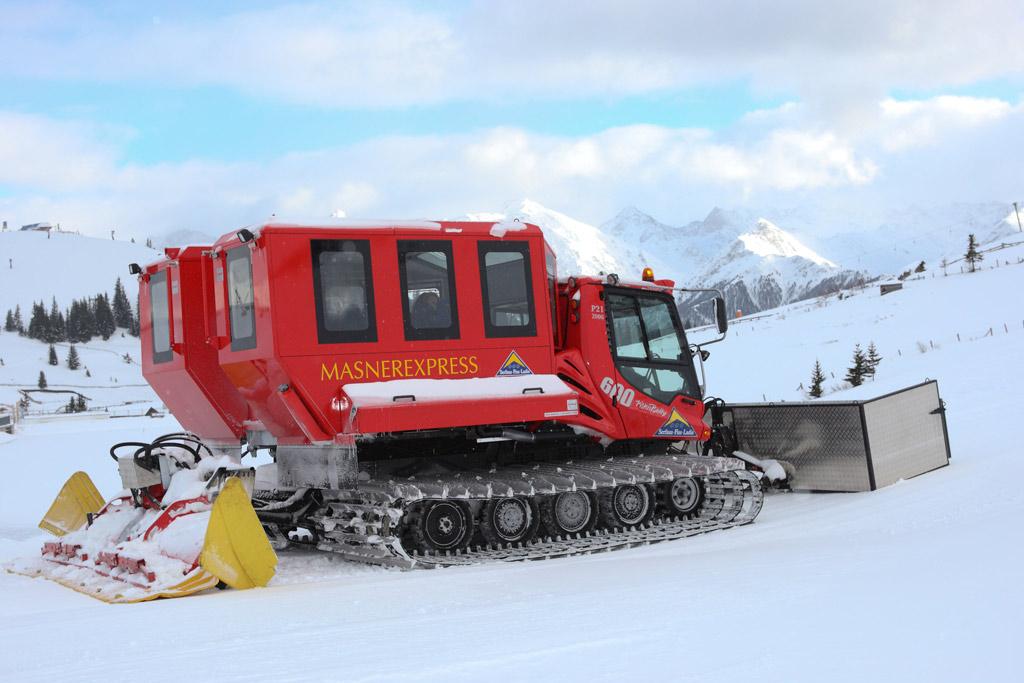 Tour met een pistebully in skigebied Serfaus-Fiss-Ladis