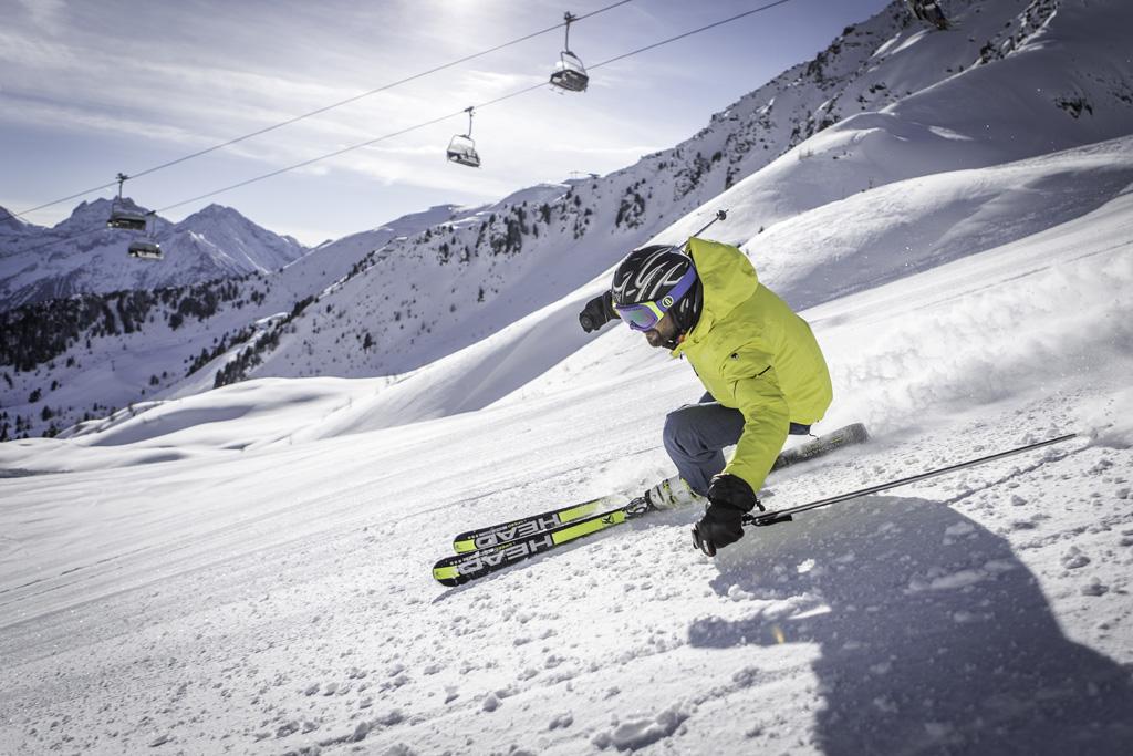 Skiën in Speikboden in de regio Kronplatz