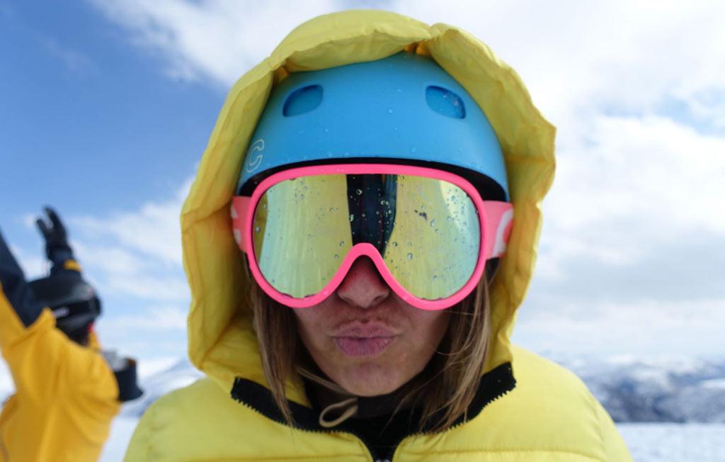 Modepop op wintersport