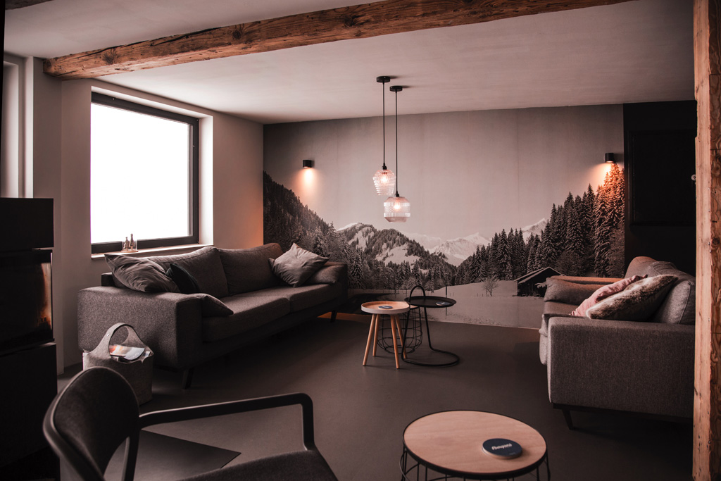 Lounge KWT Lodge in Baad
